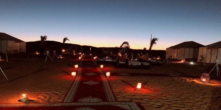 4 Days trip from Marrakech to deep desert
